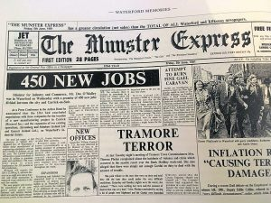 Jobs featured on many front pages from the 1980s.