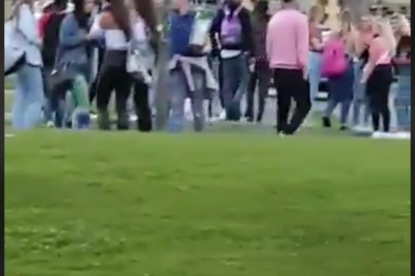 Outrage at viral video of Waterford house party