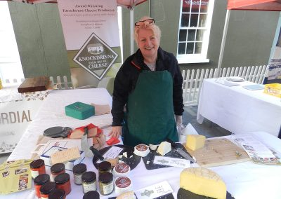 Harvest Fest Knockdrinna Cheese - Helen Finnegan of Stoneyford
