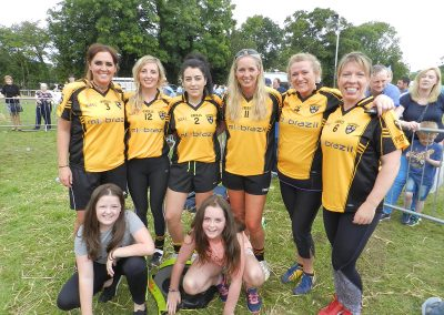 Iverk 2017 Piltown GAA women tug of war team