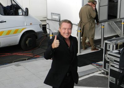 Michael Flatley at JFK event