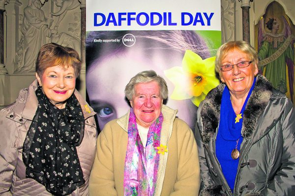 Daffodil Day with a difference