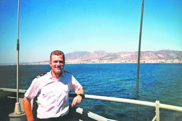Diary of a 'dryland' sailor