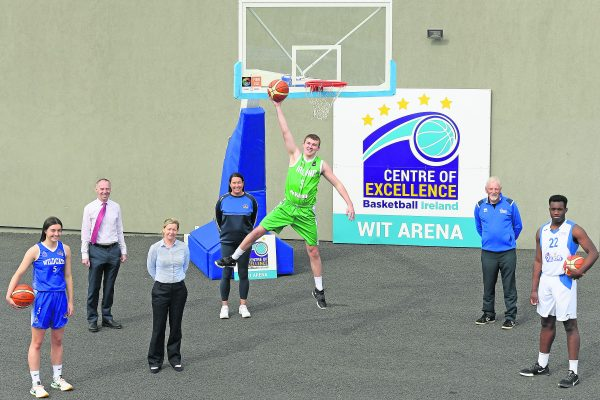 Waterford IT named Basketball Ireland Centre of Excellence