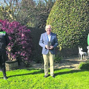 Billy Kennedy awarded Cycling Ireland Honorary Life Membership