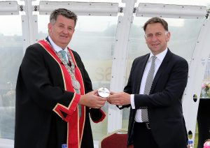 Henry De Bromhead receives Freedom of Waterford