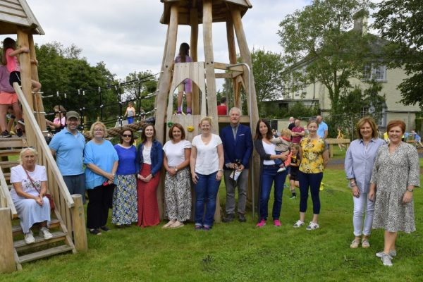 New Pil River Park playground opens its gates